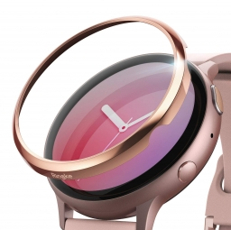 RINGKE BEZEL STYLING GALAXY WATCH ACTIVE 2 (44MM) ROSE GOLD