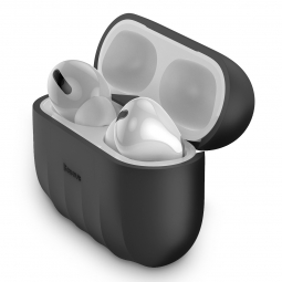 BASEUS SHELL APPLE AIRPODS PRO BLACK