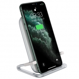 BASEUS RIB WIRELESS CHARGER WHITE