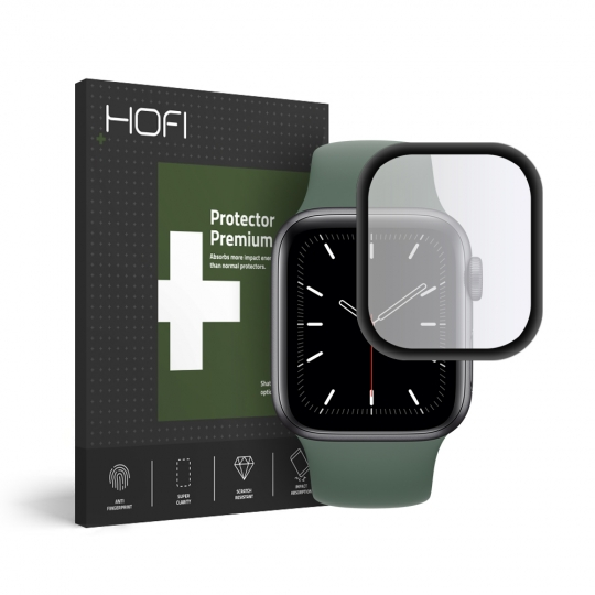 SZKŁO HYBRYDOWE HOFI HYBRID GLASS APPLE WATCH 4/5/6/SE (40MM) BLACK