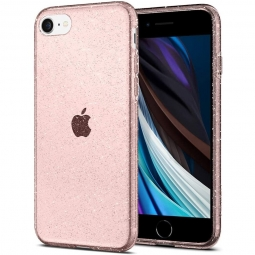 SPIGEN LIQUID CRYSTAL IPHONE 7/8/SE 2020 GLITTER ROSE