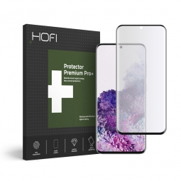 SZKŁO HYBRYDOWE HOFI ULTRAFLEX GLASS GALAXY S20+ PLUS BLACK