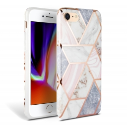 TECH-PROTECT MARBLE IPHONE 7/8/9 PINK