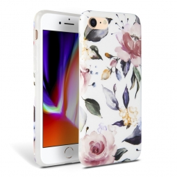 TECH-PROTECT FLORAL IPHONE 7/8/9 WHITE