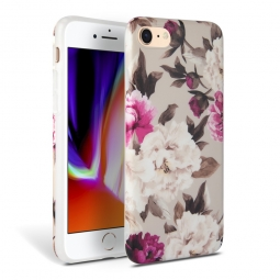 TECH-PROTECT FLORAL IPHONE 7/8/9 BEIGE