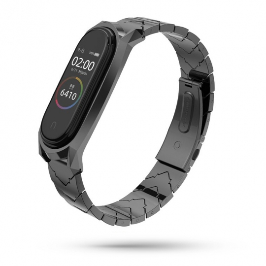 TECH-PROTECT STEELBAND XIAOMI MI BAND 3/4 BLACK