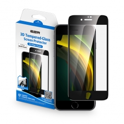 SZKŁO HARTOWANE ESR SCREEN SHIELD 3D IPHONE 7/8/SE 2020 BLACK