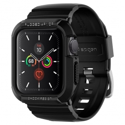 "SPIGEN RUGGED ARMOR ""PRO"" APPLE WATCH 4/5/6/SE (40MM) BLACK"