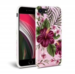 TECH-PROTECT FLORAL IPHONE 7/8/SE 2020 PINK