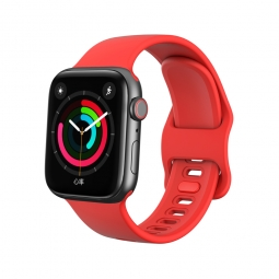 "TECH-PROTECT ICONBAND ""2"" APPLE WATCH 1/2/3/4/5/6 (38/40MM) RED"