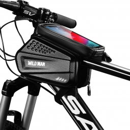 "SAKWA WILDMAN HARDPOUCH BIKE MOUNT ""XXL"" BLACK"