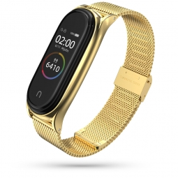 TECH-PROTECT MILANESEBAND XIAOMI MI SMART BAND 5 GOLD