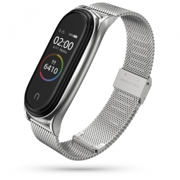 TECH-PROTECT MILANESEBAND XIAOMI MI SMART BAND 5 SILVER