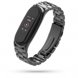 TECH-PROTECT STAINLESS XIAOMI MI SMART BAND 5 BLACK