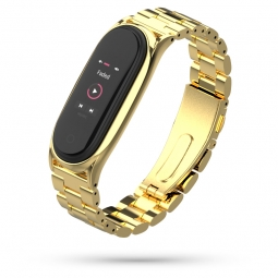TECH-PROTECT STAINLESS XIAOMI MI SMART BAND 5 GOLD
