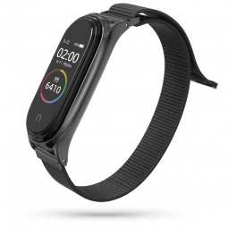 TECH-PROTECT NYLON XIAOMI MI SMART BAND 5 BLACK