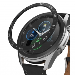 RINGKE BEZEL STYLING GALAXY WATCH 3 (45MM) STAINLESS BLACK
