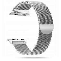 TECH-PROTECT MILANESEBAND APPLE WATCH 2/3/4/5/6/SE (38/40MM) SILVER
