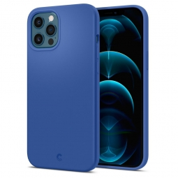 SPIGEN CYRILL SILICONE IPHONE 12/12 PRO NAVY