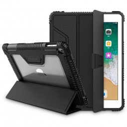 NILLKIN ARMOR LEATHER CASE IPAD 7/8 10.2 2019/2020 BLACK