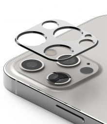 RINGKE CAMERA STYLING IPHONE 12 PRO SILVER