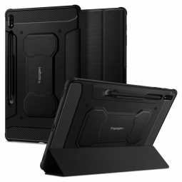 "SPIGEN RUGGED ARMOR ""PRO"" GALAXY TAB S7+ PLUS 12.4 T970/T976 BLACK"