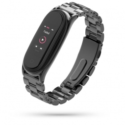 TECH-PROTECT STAINLESS XIAOMI MI SMART BAND 5/6 BLACK