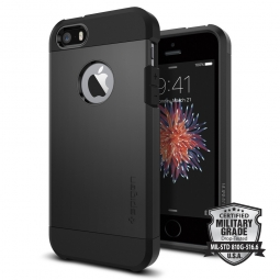 SPIGEN TOUGH ARMOR IPHONE 5S/SE BLACK