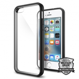 SPIGEN ULTRA HYBRID IPHONE 5S/SE BLACK