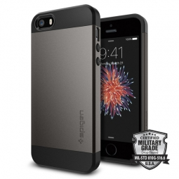 SPIGEN SLIM ARMOR IPHONE 5S/SE GUNMETAL