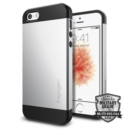 SPIGEN SLIM ARMOR IPHONE 5S/SE SATIN SILVER