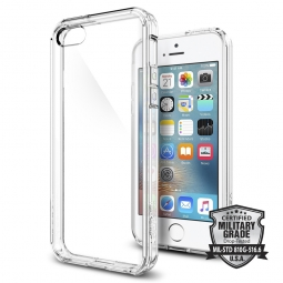 SPIGEN ULTRA HYBRID IPHONE 5S/SE CRYSTAL CLEAR