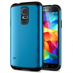 SPIGEN SGP SLIM ARMOR SAMSUNG GALAXY S5/S5 NEO ELECTRIC BLUE