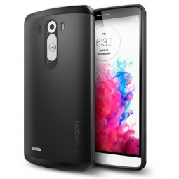 SPIGEN SLIM ARMOR LG G3 SMOOTH BLACK