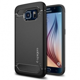 SPIGEN RUGGED ARMOR GALAXY S6 BLACK