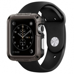 SPIGEN SGP TOUGH ARMOR APPLE WATCH 1/2/3 (42MM) GUNMETAL