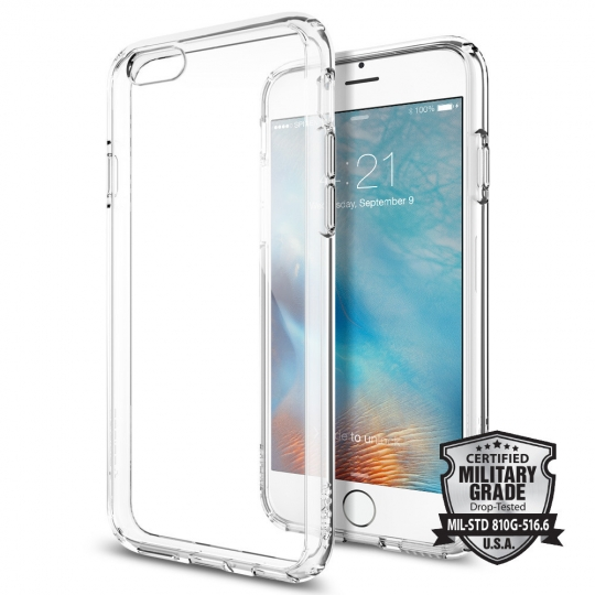 SPIGEN ULTRA HYBRID IPHONE 6/6S (4.7) CRYSTAL CLEAR