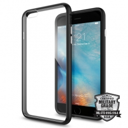 SPIGEN ULTRA HYBRID IPHONE 6/6S PLUS (5.5) BLACK