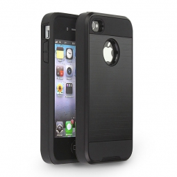 TECH-PROTECT BRUSCHED IPHONE 4/4S BLACK
