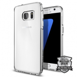 SPIGEN ULTRA HYBRID GALAXY S7 CRYSTAL CLEAR