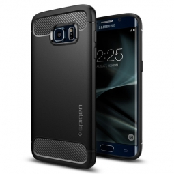 SPIGEN SGP ARMOR RUGGED GALAXY S7 EDGE BLACK