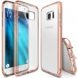 RINGKE FUSION GALAXY S7 EDGE ROSE GOLD