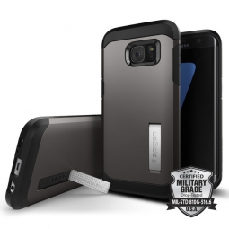 SPIGEN SGP TOUGH ARMOR SAMSUNG GALAXY S7 EDGE GUNMETAL