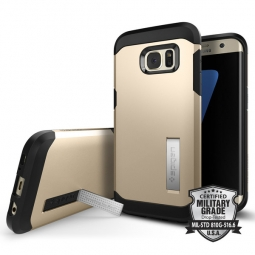 SPIGEN SGP TOUGH ARMOR SAMSUNG GALAXY S7 EDGE CHAMPAGNE GOLD