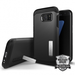SPIGEN SGP TOUGH ARMOR SAMSUNG GALAXY S7 EDGE BLACK