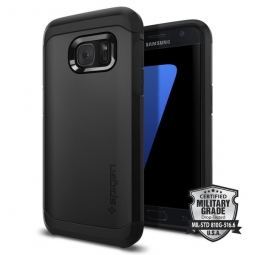 SPIGEN TOUGH ARMOR GALAXY S7 BLACK
