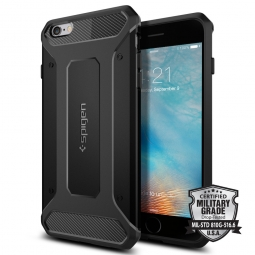 SPIGEN RUGGED ARMOR IPHONE 6/6S PLUS (5.5) BLACK