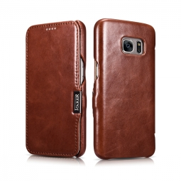 ICARER VINTAGE GALAXY S7 BROWN