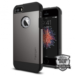 SPIGEN TOUGH ARMOR IPHONE 5S/SE GUNMETAL