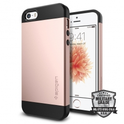 SPIGEN SLIM ARMOR IPHONE 5S/SE ROSE GOLD